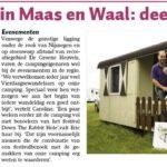 Artikel De Maas & Waler 2016 media