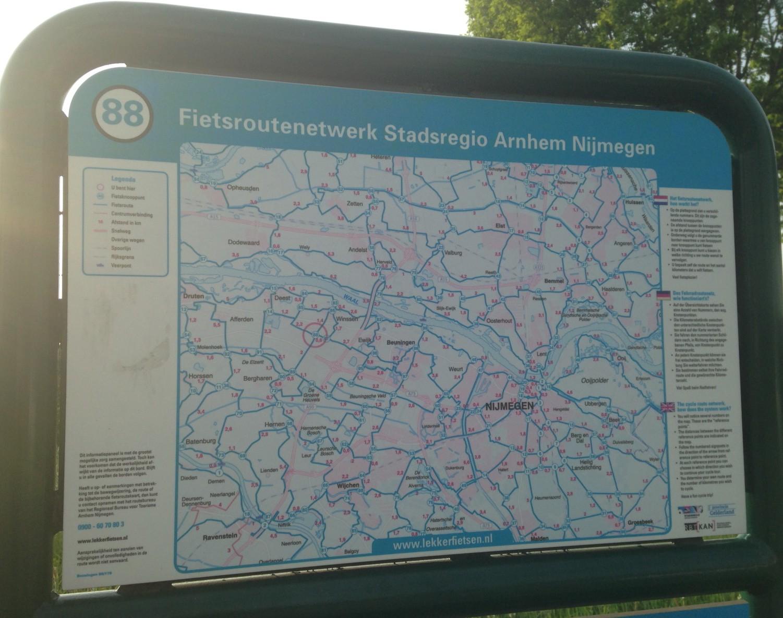 knooppunt kaart